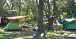 camping arequita