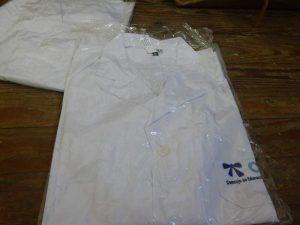 tunicas entregadas en liceo