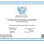 17.05.2019 Escritor Lissidini: Designado Asesor Cultural en la ONU