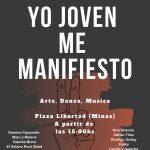 21.09.2019 Desde las 15 horas en Plaza Libertad «Yo Joven me Manifiesto»