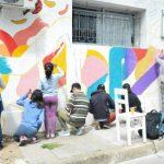 06.12.2019 Un mural que da vida: Centro Despertar lleno de vida y color